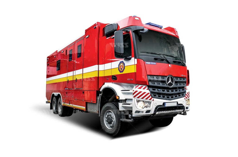 Mercedes Benz Arocs 3348 6x6 Wiss